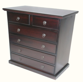 Normal 6 Draw Chest of Drawers
