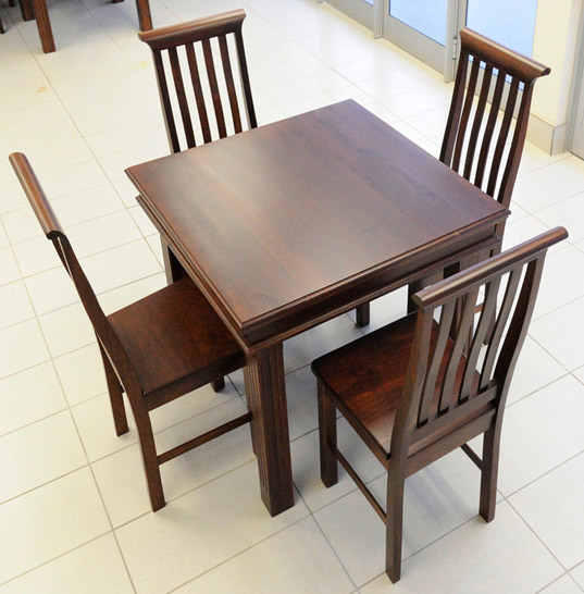 Table darren 4 seater vryheid country furniture for Dining room tables johannesburg