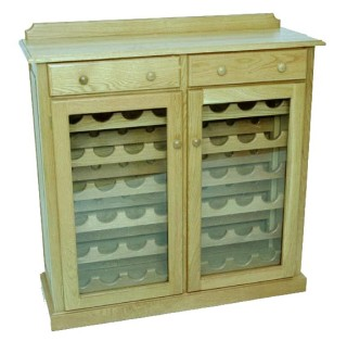 Wine Cabinet 48 Bottle Cottage