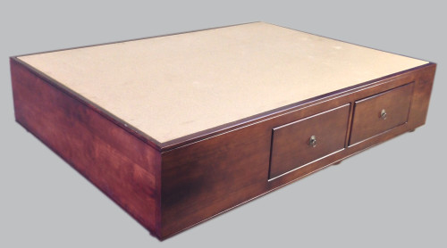 Bed Base - Box with draws
