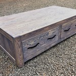 Coffee Table Andrew 4 drawer
