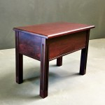 Dressing Table Stool with lid