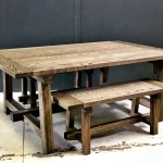 Table A-Frame with benches